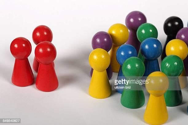 Feature Exklusion / Inklusion bunte Spielsteine