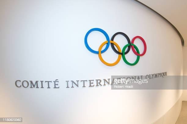 Feature image of the new Olympic House interior of International Olympic Committee on June 18 2019 in Lausanne Switzerland