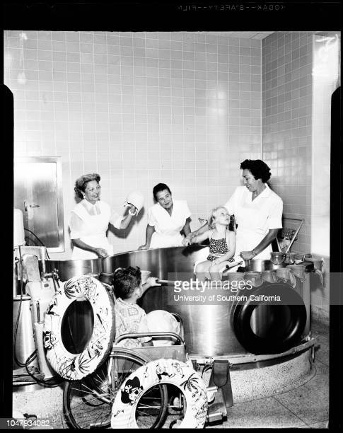 Feature Los Angeles State College 23 September 1958 Richard RoseRobert NobleJim FritschMary MorrisNida BalsysStan Svonkin Beverly DonaldsonKatherine...