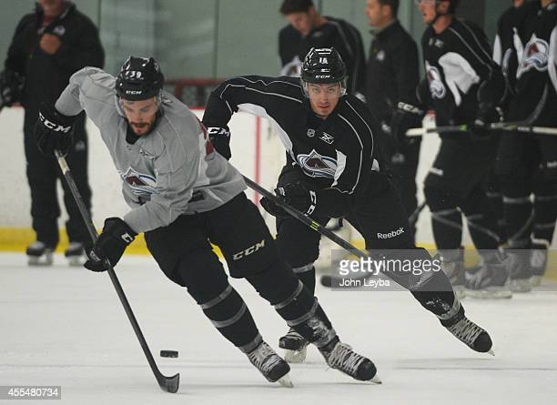 Feature on defenseman Duncan Siemens who was drafted No 11 by the Avalanche in 2011 workouts during rookie camp September 15 2014 at Family Sports