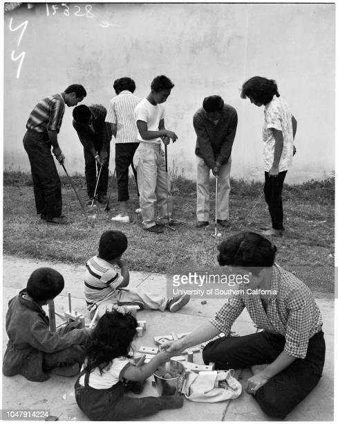 Feature on Japanese teenagers 8 May 1958 Richard Kakita 15 yearsGordon Sugimoto 14 yearsJeanie Tatsumi 14 yearsWilliam Shibata 15 yearsParker Mui 15...