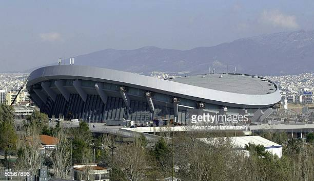 Feature / Sportstaette: Olympische Spiele Athen 2004, Athen; Volleyball 21.02.04.