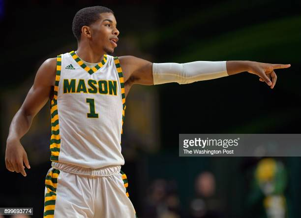 feature story on George Mason guard Justin Kier who was raised by his grandmother after he was in car accident in which he was unharmed but his...