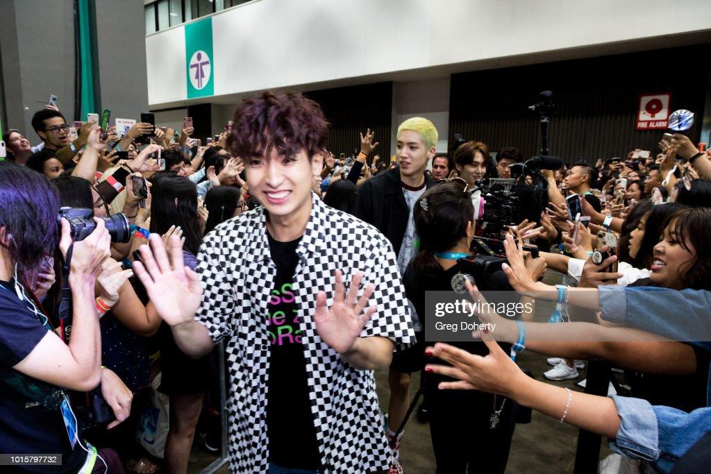 KCON 2018 LA : News Photo