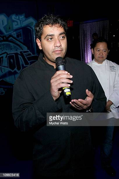 Featured Chef Michael Mina attends Douglas Hannant's 10th Year Anniversary at Bon Appetit Supper Club on October 26 2007 in New York City New York