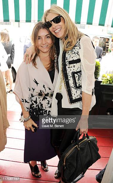 Features director of Tatler Vassi Chamberlain and Kim Hersov attend a lunch to celebrate the Lulu Co Autumn/Winter 2011 collection hosted by Tania...