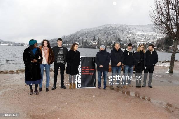 Features film jury Aissa MAiga Judith Chemla Finnegan Oldfield Suzanne Clement Olivier Megaton Nicolas Boukhrief David Bell Pascale Arbillot Mathieu...
