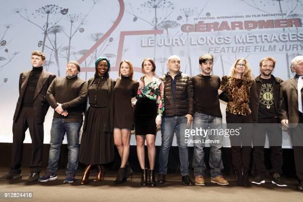 Features film jury Finnegan Oldfield Olivier Megaton Aissa Maiga Suzanne Clement Judith Chemla Nicolas Boukhrief David Belle Pascale Arbillot Mathieu...