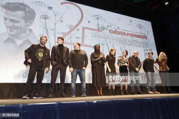 Features film jury Mathieu Kassovitz Finnegan Oldfield Olivier Megaton Aissa Maiga Suzanne Clement Judith Chemla Nicolas Boukhrief David Belle...