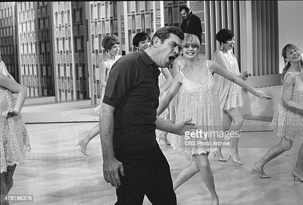 S UPTOWNDOWNTOWN SHOW featuring Andy Griffith and The Nick Castle Dancers Among the dancers Goldie Hawn Negs dated February 5 1967 Broadcast date...