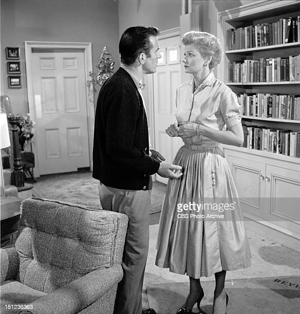 BEAVER Featuring Hugh Beaumont and Barbara Billingsley Image dated December 6 1957