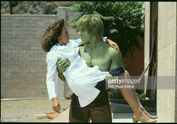 HULK featuring Lou Ferrigno as 'The Incredible Hulk' Episode 'Bring Me the Head of the Hulk' aired January 9 1981 Jane Merrow