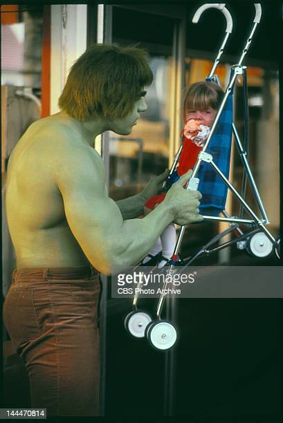 HULK featuring Lou Ferrigno as 'The Incredible Hulk' Episode Like a Brother aired January 31 1979 Young girl is unidentified