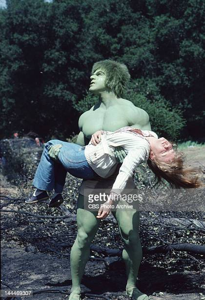 HULK featuring Lou Ferrigno as 'The Incredible Hulk' Episode Prometheus aired November 7 1980 Laurie Prange