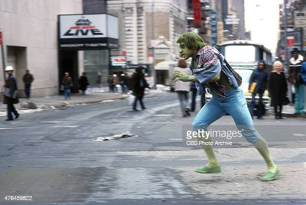 HULK featuring Lou Ferrigno as 'The Incredible Hulk' Episode Terror in Times Square aired March 31 1978
