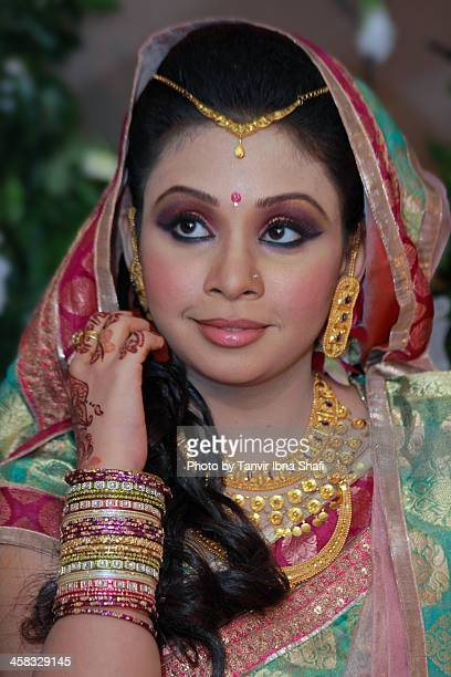 featuring mim - bangladeshi bride stock photos and pictures