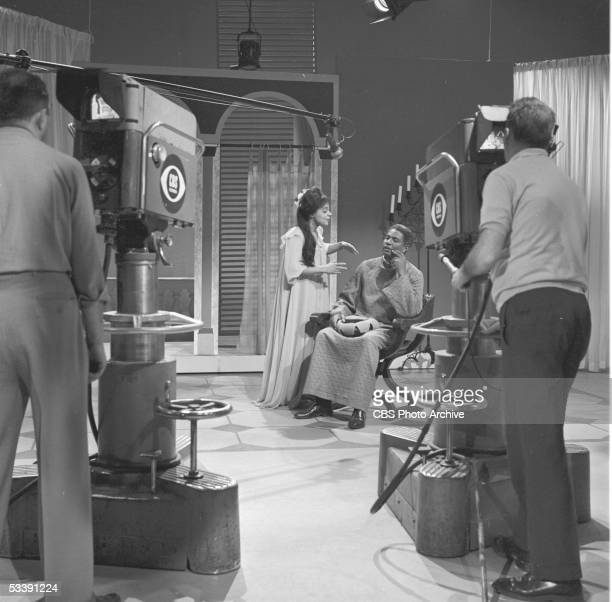 STAGE 2 featuring Ruby Dee and Ossie Davis Image dated March 9 1964