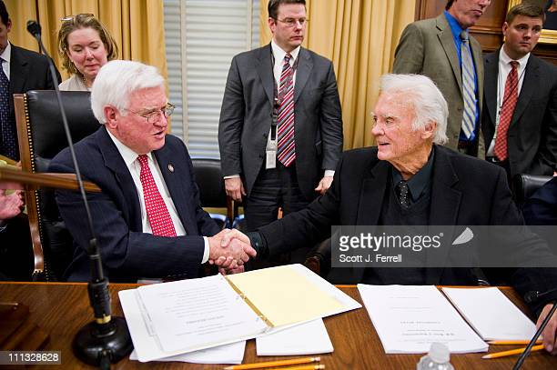 Chairman Harold Rogers RKy and former Chairman CW Bill Young RFla before the House Appropriations organizational meeting The panel also adopted rules...