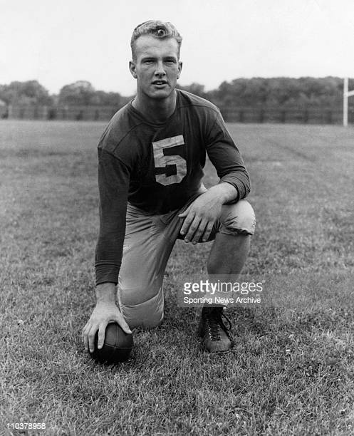Feb 14 2008 Los Angeles California USA PAUL HORNUNG quarterback for Notre Dame in 1956