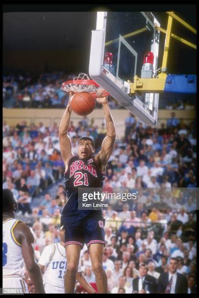 General view of a game between the Arizona Wildcats and the UCLA Bruins at Pauley Pavilion in Los Angeles, California. Mandatory Credit: Ken Levine...