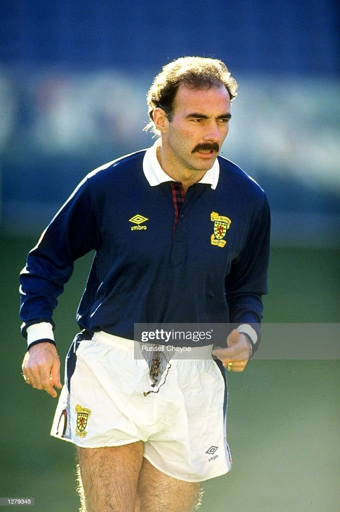 Willie Miller of Scotland A : News Photo