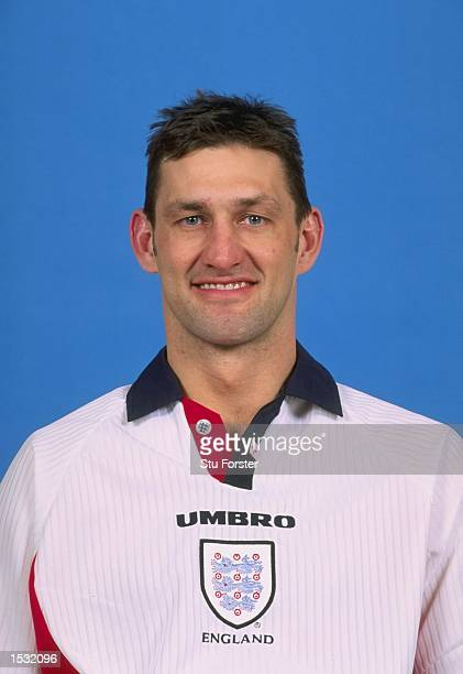 A portrait of Tony Adams of England taken during England training at Bisham Abbey in Marlow Mandatory Credit Stu Forster /Allsport