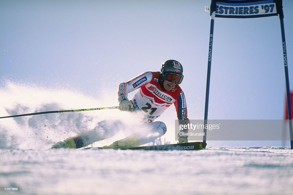 Andrine Fleming of Norway in action : News Photo