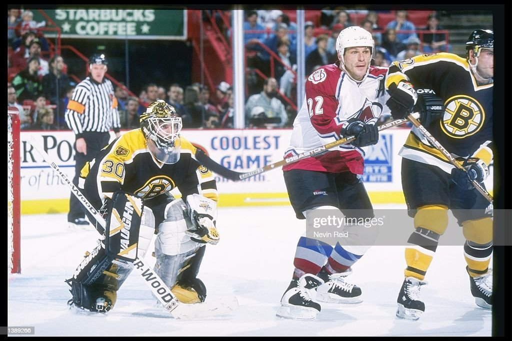 Bruins V Avalanche : News Photo