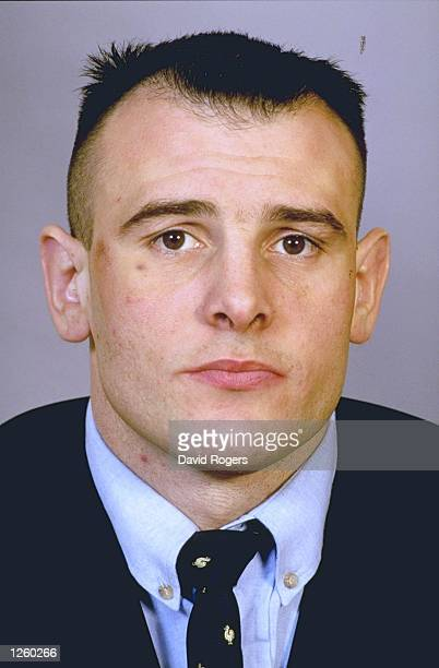 Portrait of Hugues Miorin member of the French Rugby Union squad Mandatory Credit David Rogers /Allsport