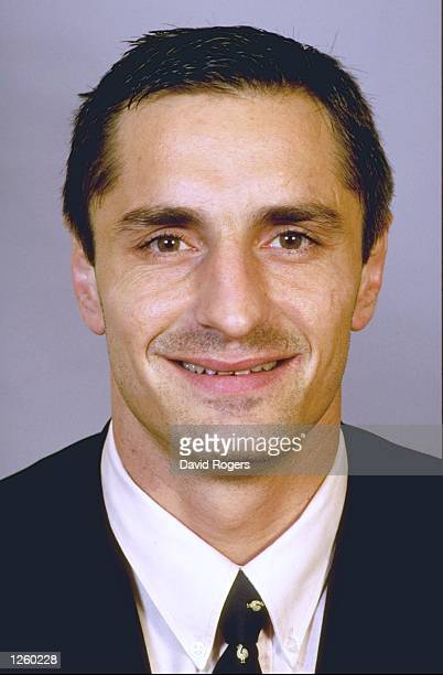 Portrait of Laurent Leflammand member of the French Rugby Union squad Mandatory Credit David Rogers /Allsport