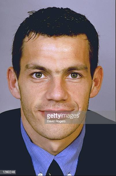 Portrait of Stephane Glas member of the French Rugby Union squad Mandatory Credit David Rogers /Allsport