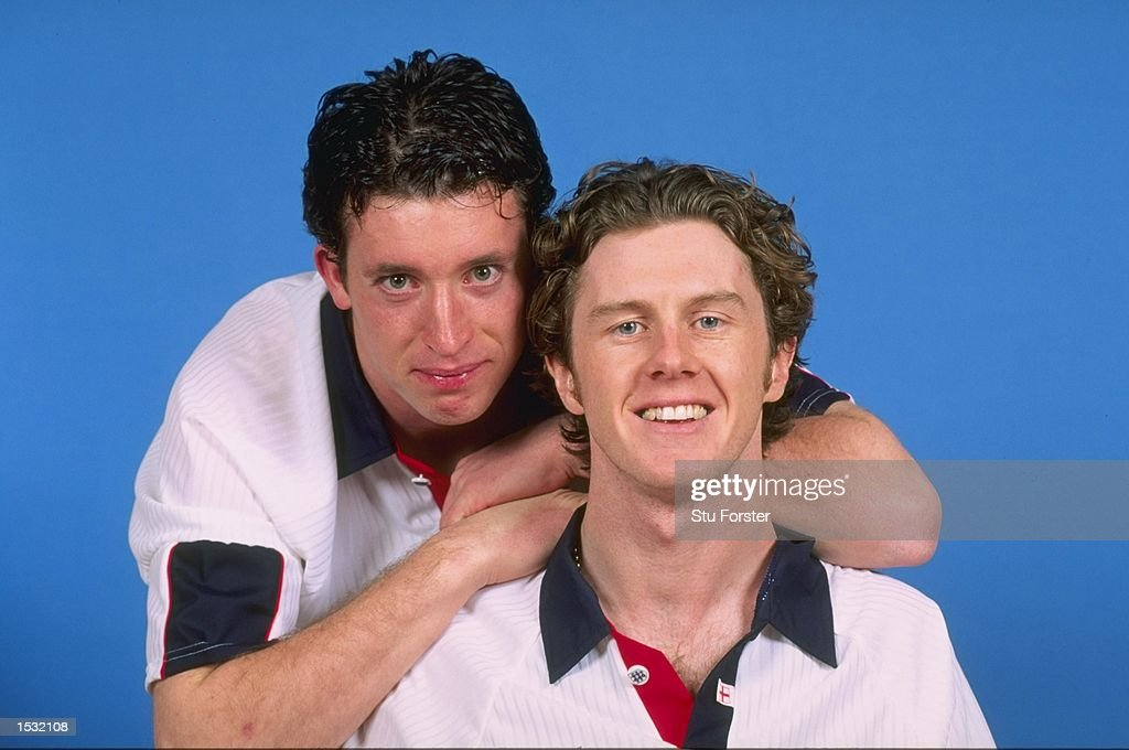 Portraits of Robbie Fowler (left) and Steve McManaman... : News Photo