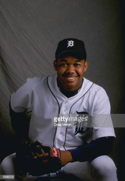 Francisco Cordero of the Detroit Tigers poses for a portrait during Spring Training at the Merchant Stadium in Lakeland Florida