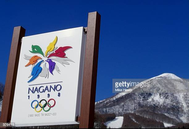 General view of the setting for the Winter Olympics in Nagano Japan Mandatory Credit Mike Hewit /Allsport