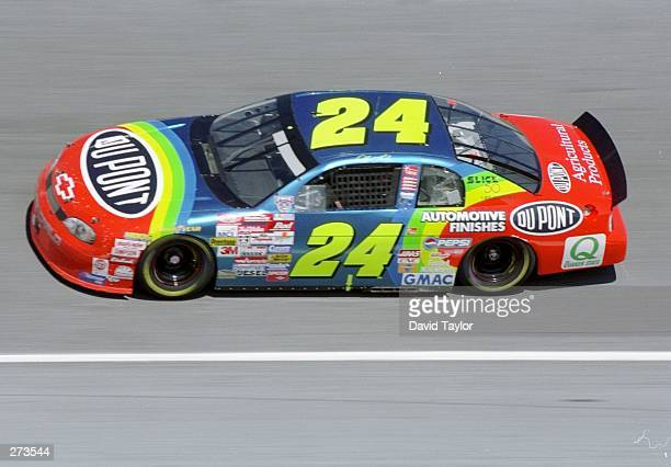 Jeff Gordon in action during the Nascar Daytona 500 at the Daytona International Speedway in Daytona Beach Florida Mandatory Credit David Taylor...