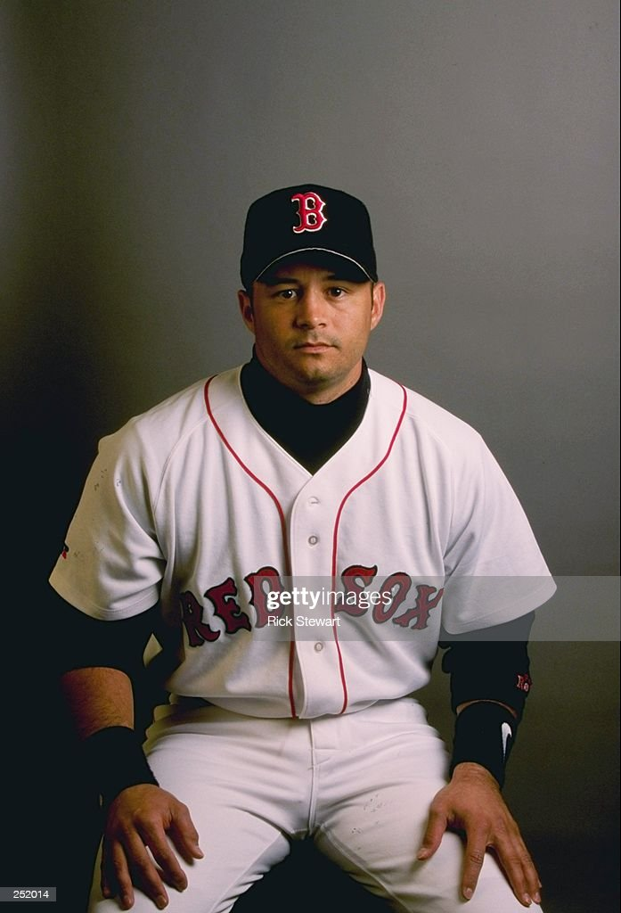 John Valentin #13 Of The Boston Red Sox Poses For A Portrait During Spring  Training