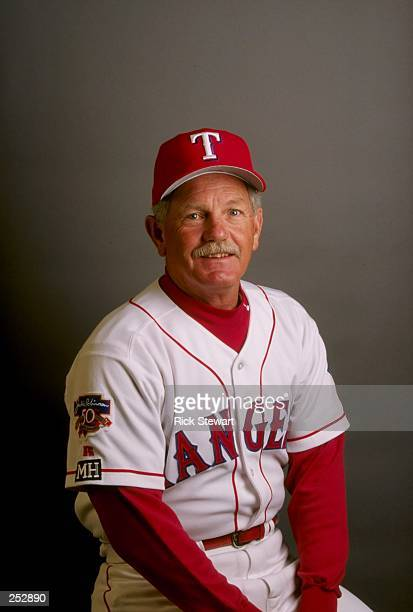 Johnny Oates of the Texas Rangers poses for a portrait during Spring Training at the Charlotte County Stadium in Port Charlotte, Florida. Mandatory...