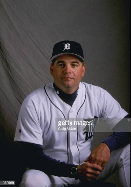 Rick Adair of the Detroit Tigers poses for a portrait during Spring Training at the Merchant Stadium in Lakeland Florida Mandatory Credit Craig...