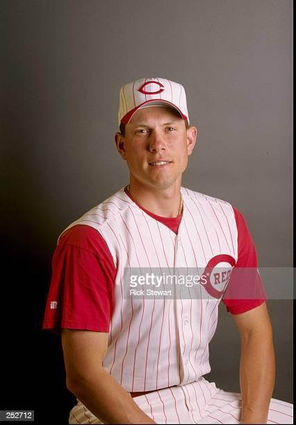 Stan Belinda of the Cincinnati Reds poses for a portrait during Spring Training at the Ed Smith Stadium in Sarasota Florida Mandatory Credit Rick...
