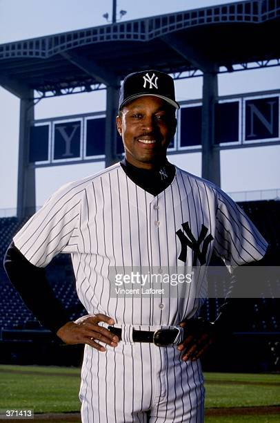 Coach Willie Randolph of the New York Yankees poses for the camera on Photo Day during Spring Training at Legends Field in Tampa, Florida. Mandatory...