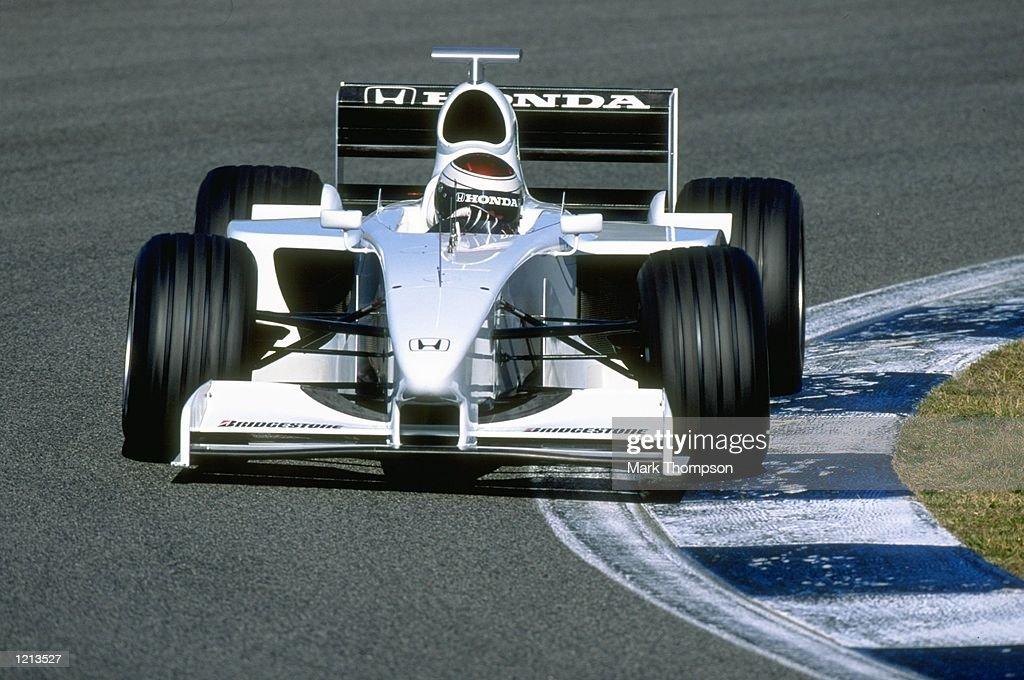 Formula One testing Jos Verstappen : Nachrichtenfoto