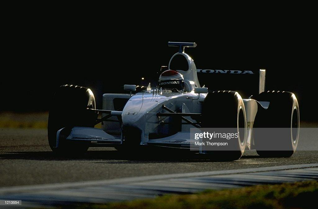 Formula One testing Jos Verstappen : News Photo