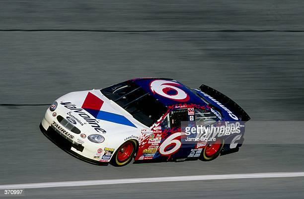 Mark Martin races in the pole qualifying heat during the Daytona 500 Speedweek at the Daytona International Speedway in Daytona Florida Mandatory...