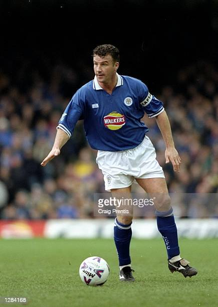 Steve Walsh captains Leicester City in FA Carling Premiership match against Sheffield Wednesday at Filbert Street in Leicester England Leicester lost...