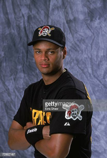 Alex Hernandez of the Pittsburgh Pirates poses for a studio portrait on Photo Day during Spring Training in Bradenton Florida