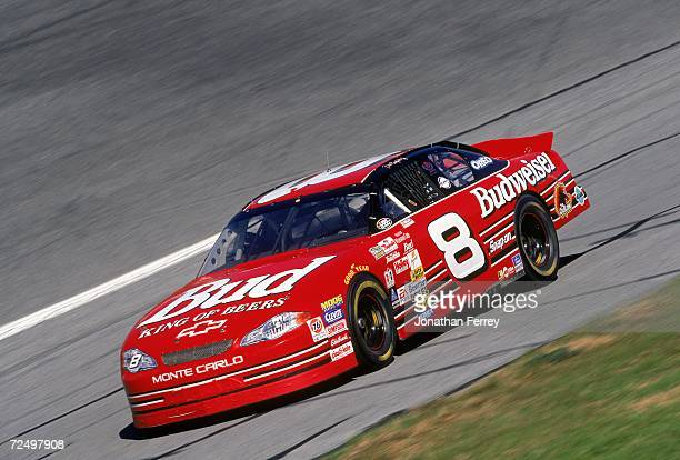 Dale Earnhardt Jr is in action during Daytona Speedweeks at the Daytona International Speedway in Daytona Beach Florida Mandatory Credit Jon Ferrey...
