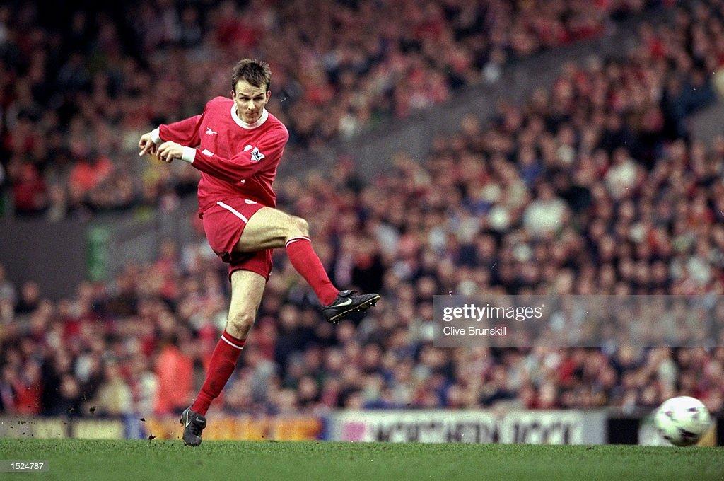 Dietmar Hamann of Liverpool : News Photo