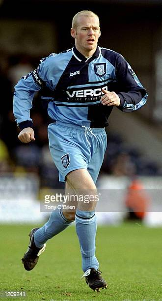 Keith Ryan of Wycombe Wanderers in action in the Nationwide Division Two League game against Oxford United played at Adams Park in Wycombe, England....