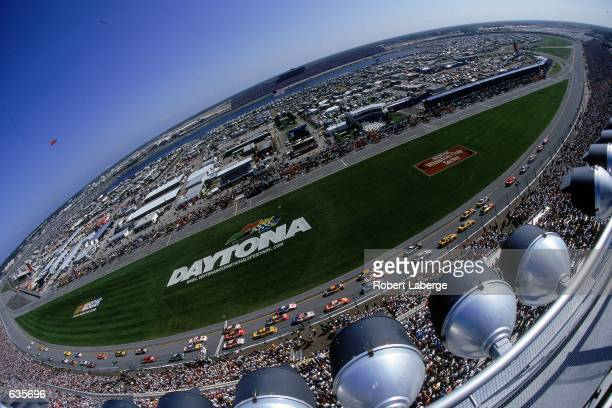 A general view of the track taken during the Daytona 500 Speedweeks at the Daytona International Speedway in Daytona Beach FloridaMandatory Credit...