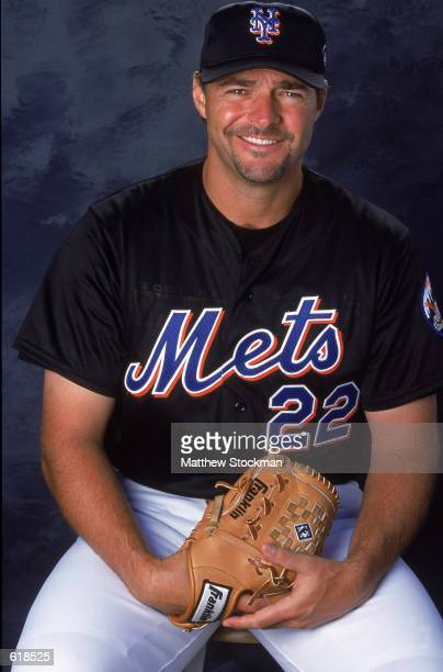 Al Leiter of the New York Mets poses for a studio portrait during Spring Training at Thomas J White Stadium in Port St Lucie FloridaMandatory Credit...